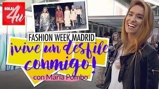 Vive un desfile conmigo en Madrid Fashion Week |