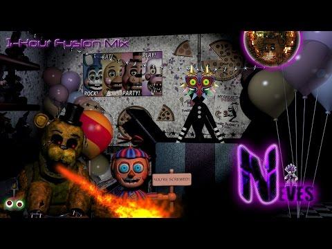 Five Nights At Freddy's 1.5 Remix (1-Hour Fusion Mix) - Nitroglitch