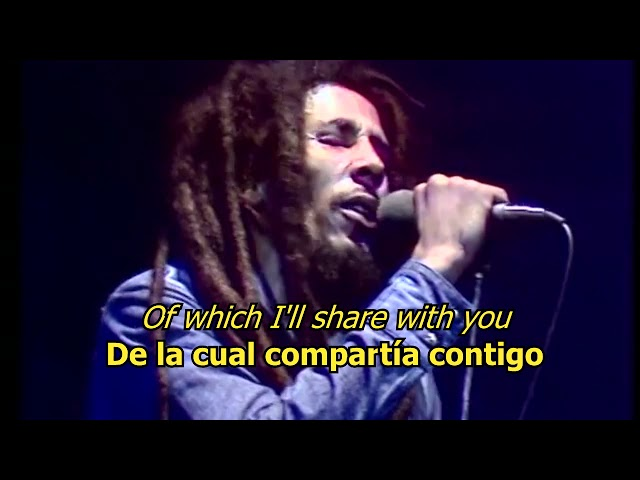 No woman no cry - Bob Marley (LYRICS/LETRA) (Reggae)