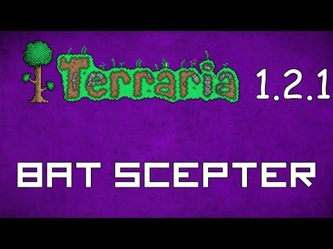Bat Scepter - Terraria 1.2.1 Guide New Magic Weapon! - GullofDoom - Guide/Tutorial