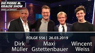 Pierre M. Krause Show vom 26.03.2019 mit Dirk, Maxi Wincent