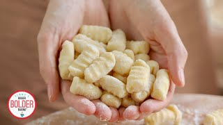3-Ingredient Homemade Gnocchi: Watch Me Use ONLY Basic Kitchen Tools to Make It.