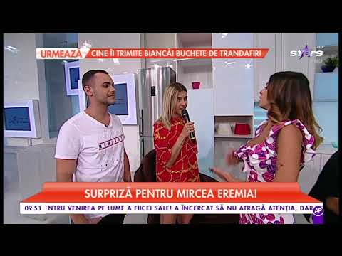 Alina Eremia a venit sa își susțină fratele la Star Matinal