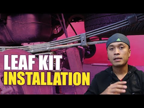 Add-a-leaf Kit Installation for the Tacoma
