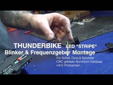 LED turn signal mounting on Harley-Davidson CAN Bus models