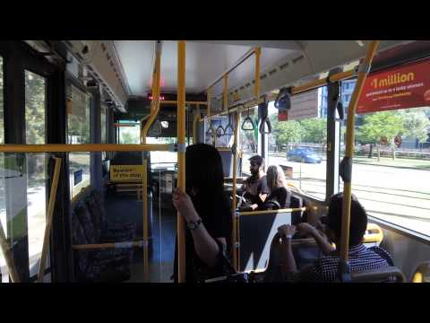 パース市内の無料バス Perth Free CAT Bus - Western Australia