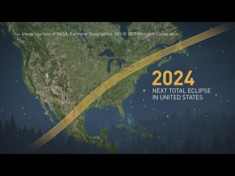Path Of The 2024 Solar Eclipse