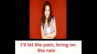 Rachel Alejandro Let The Pain Remain with lyrics