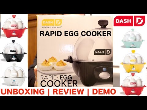 Dash Rapid Egg Cooker | Review | Unboxing | Cooking Demo