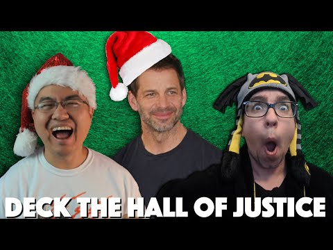 'The Snyder Claus' w/ Zack Snyder - AFSP | Film Junkee & Ping Pong Flix Deck the Hall of Justice