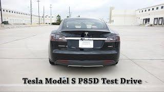2016 Tesla Model S P85D Auto-Pilot/Insane Mode Test Drive [Part 2]
