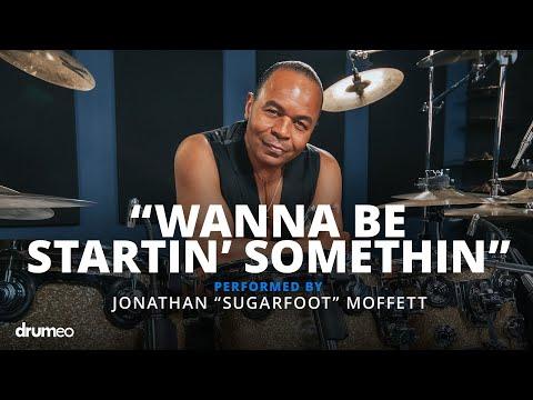 "Michael Jackson's Drummer Jonathan Moffett Performs ""Wanna Be Startin' Somethin"""