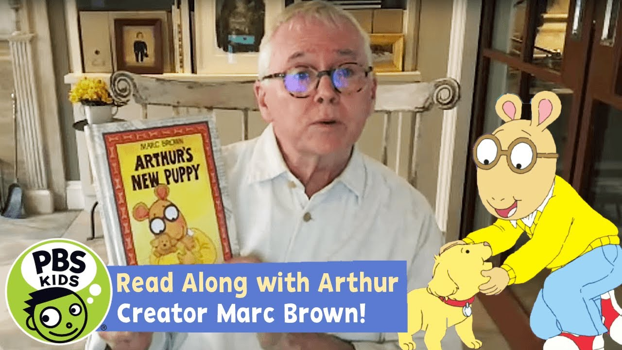 Arthur's New Puppy! 🐶 | READ ALONG! | PBS KIDS