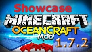 Minecraft 1.7.2 Oceancraft mod (mod showcase)
