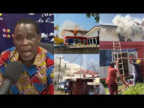 Angel TV on f!re & burnt to ashes, Kojo Dickson reveals how it all happened