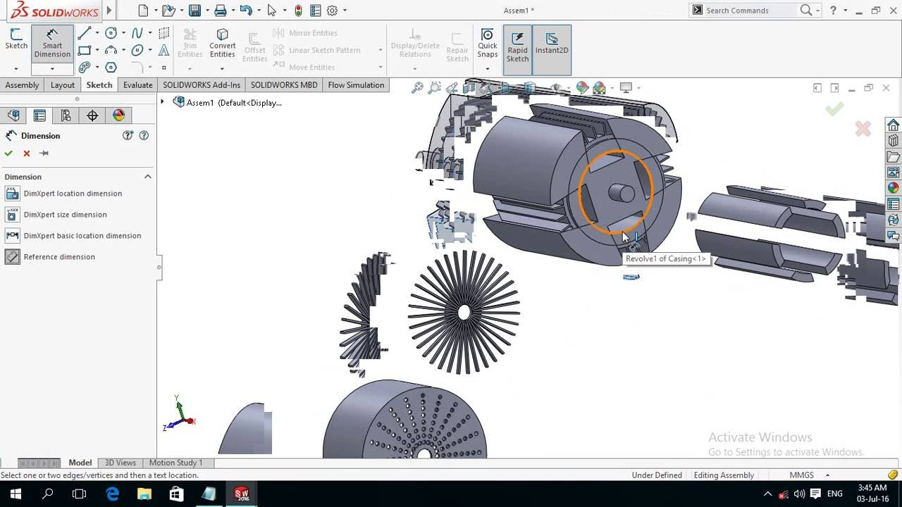 3d Modeling Wallpaper Solidworks Modeling And Assembly Of Electric Motor 3 3 Solidworks