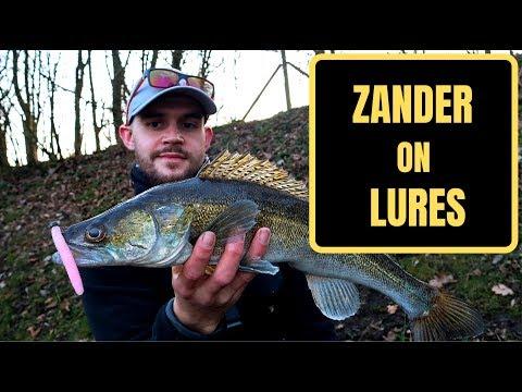 UK LURE FISHING - CANAL ZANDER