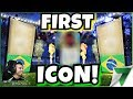 MY FIRST ICON FROM PACK OPENING!! THIS IS HARD!!! | FIFA 18
