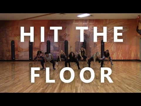 "ZUMBA WITH CAT ""Hit the Floor"" by Twista feat Pitbull"