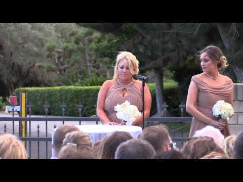 California Wedding Videographer, The Wedding Ceremony of Bra