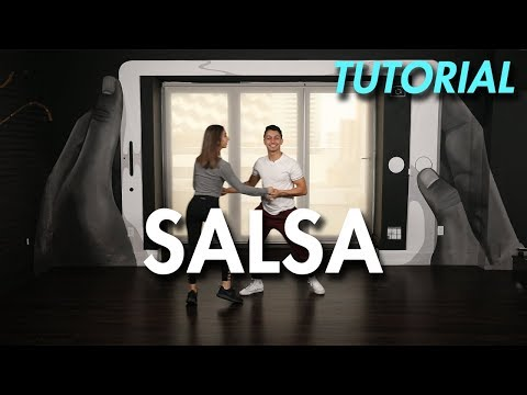 How to Salsa: Hammerlock Variation (Ballroom Dance Moves Tutorial) | MihranTV