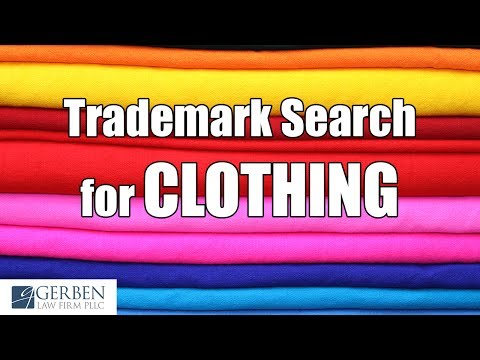 Trademark Search for Clothing