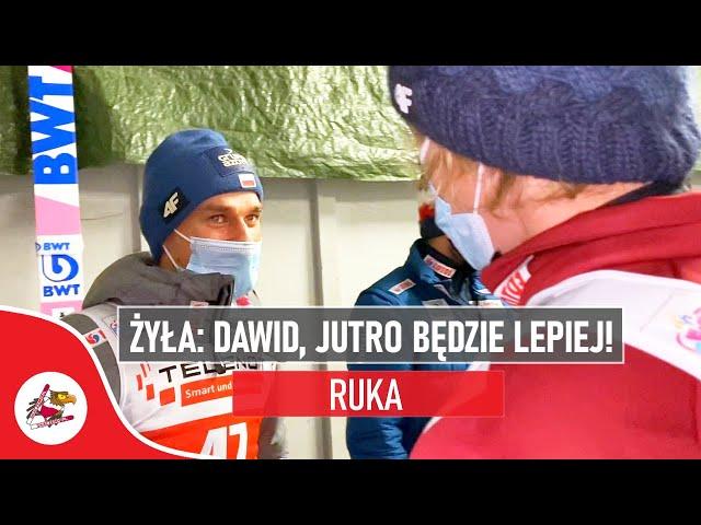 Piotr Żyła: Dawid, jutro będzie LEPIEJ! | Podwójne podium Polaków w Finlandii | Puchar Świata Ruka