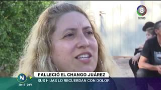 El último adiós a El Chango Juárez