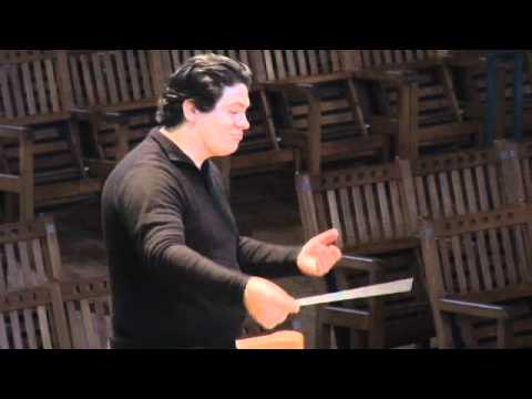 Inside the TMC: Conducting Master Class with Stefan Asbury and BSO cellist Mihail Jojatu