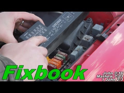 Under Hood Relay Replacement - YouTube