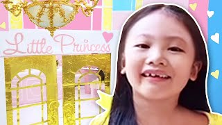 Princess Boxfort Toy Hotel + Unicorn Room + Toy Hunt Part 3