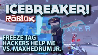 Icebreaker Game Play! Tag, Hide and Seek,Team Battles and a HACKER! (Roblox Gaming)