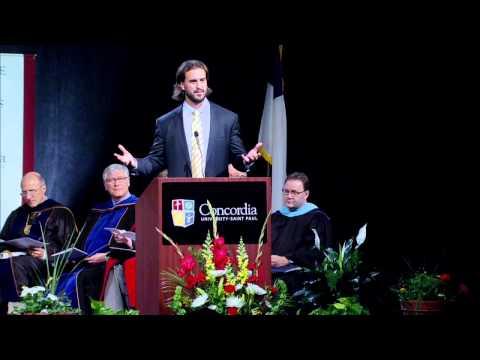 Commencement Address - Mr. Ben Utecht - Friday, May 9, 2014