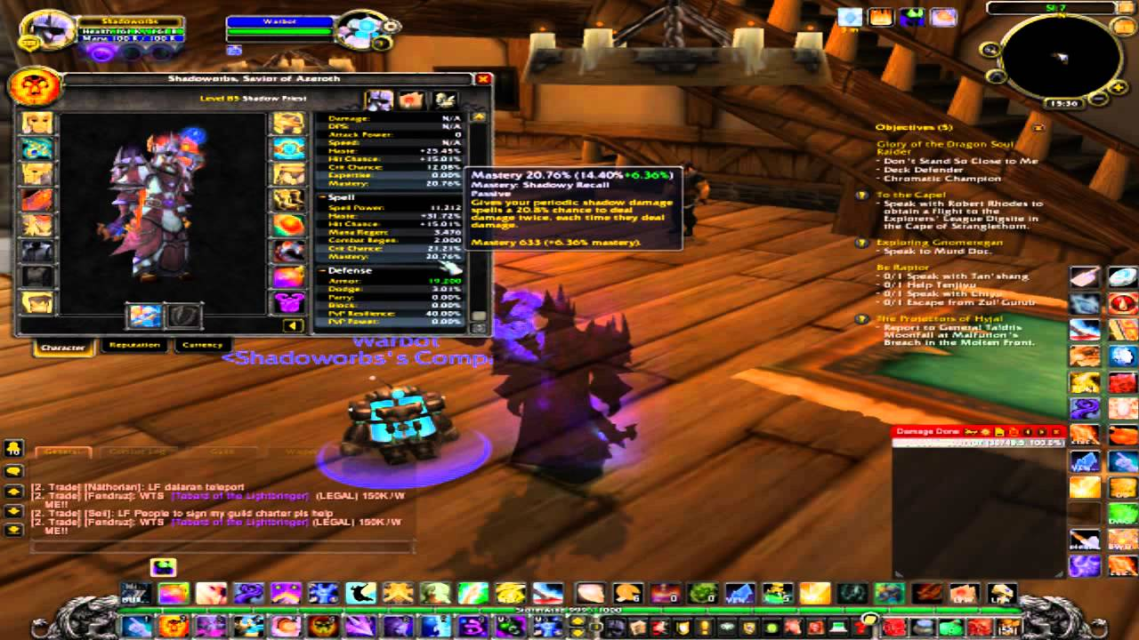 Wow shadow priest pve stats patch 5 0 4 mop youtube for Wow portent 5 4