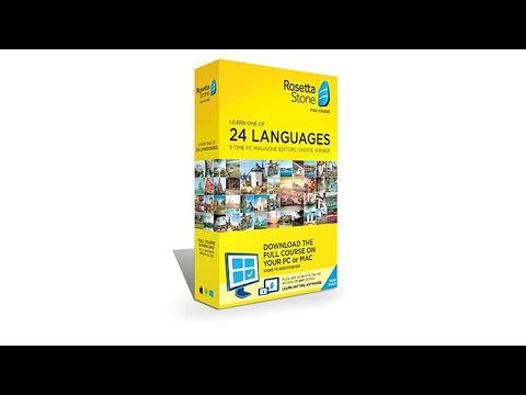 Rosetta Stone Language System Lifetime License on PC and