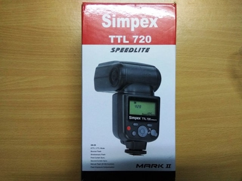 Simpex TTL720 SPEEDLITE Flash light in HINDI TECHNICAL ASTHA
