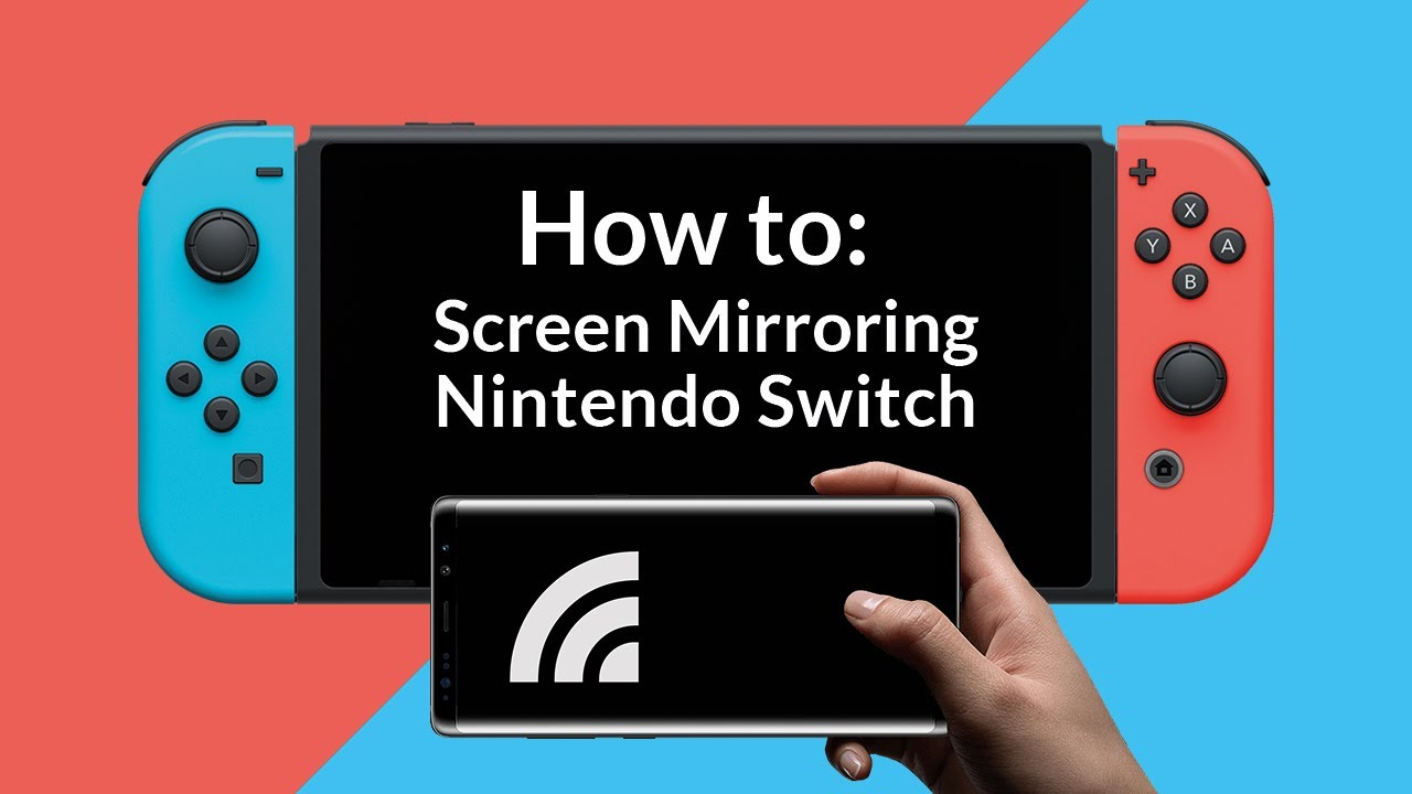 How To Screen Mirroring For Nintendo Switch Youtube