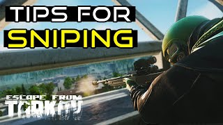 Tips For Sniping In Escape From Tarkov! - Tarkov Beginners Guide!