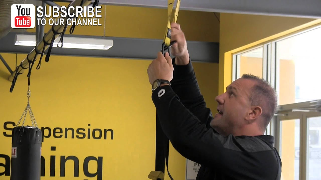 How To Hang Your Suspension Bands For Better Bodyweight Workouts Youtube