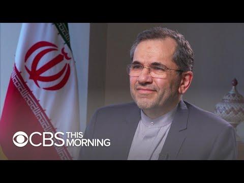 Iranian ambassador: I believe President Trump does not want war