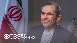 Iranian ambassador: I believe President Trump does not want war