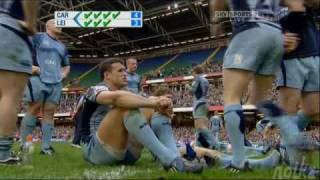 Rugby penalty shootout - Cardiff vs Leicester 2009