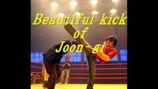 Lee Joon-gi(イ・ジュンギ) 이준기 『Beautiful kick of Joon-gi』