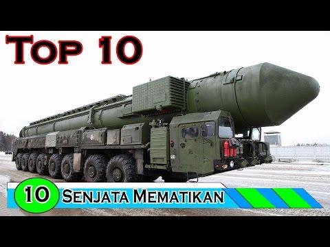 10 Senjata Paling Mematikan Di Dunia