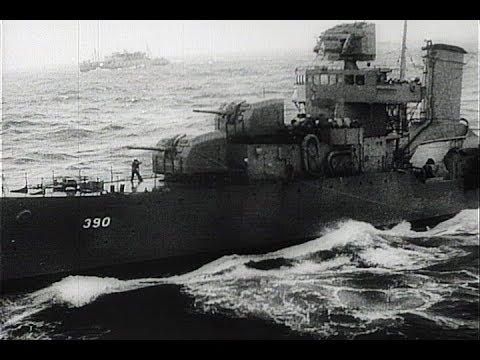 HD Historic Archival Stock Footage WWII - Marines Land On Th