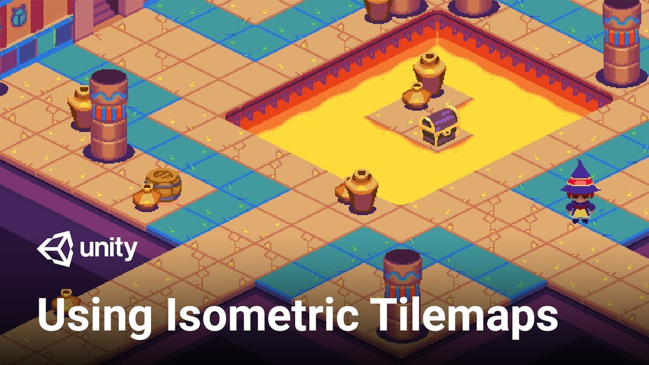 How To Use Isometric Tilemap In Unity 2018 3 Tutorial Youtube