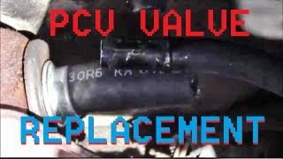 Changing PCV Valve on 1997 Ford Contour / Mercury Mystique Zetec 2.0 Liter Engine