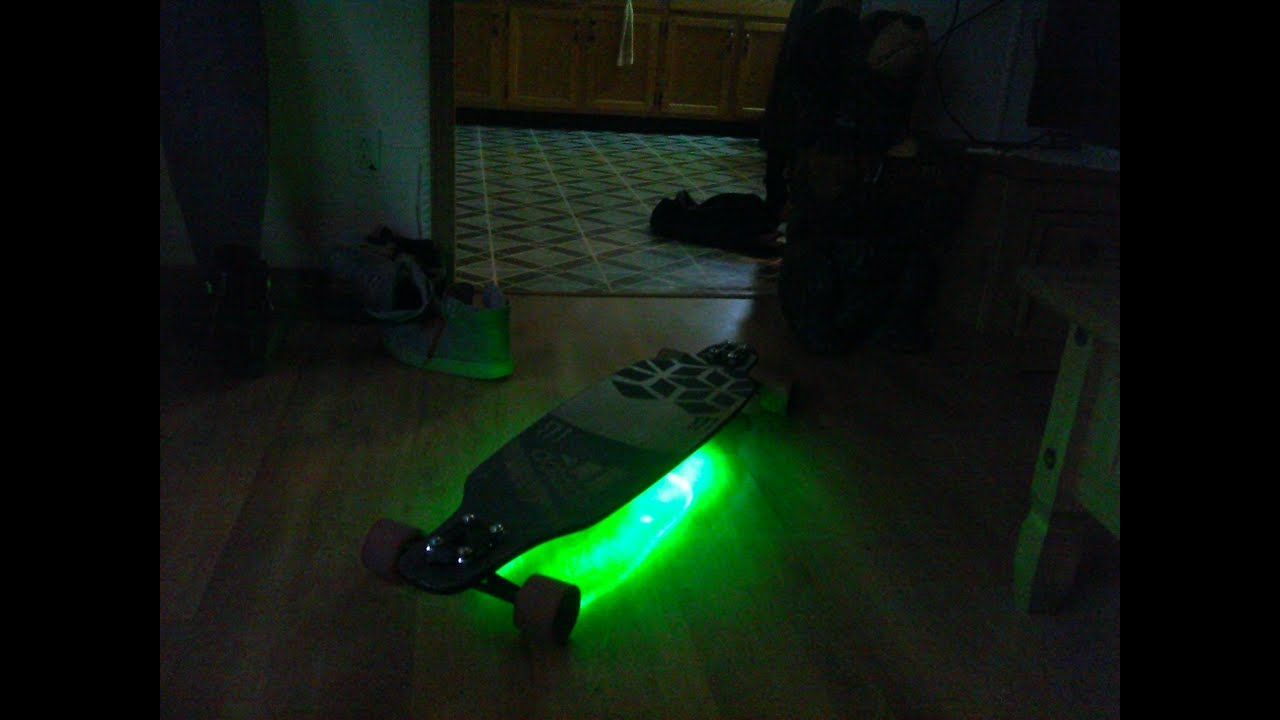 Sector 9 Star9 Custom Longboard Led Paint Job Youtube