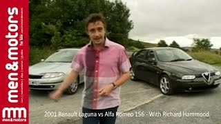 2001 Renault Laguna vs Alfa Romeo 156 - With Richard Hammond