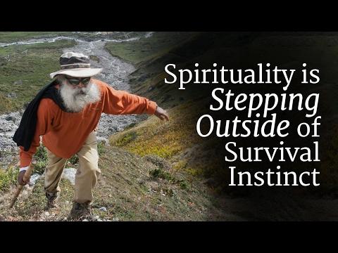 Spirituality is Stepping Outside of Survival Instinct | Sadhguru